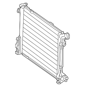 Radiator - Mercedes-Benz (099-500-62-03)