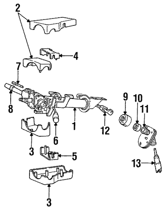 Jeep Wrangler Ignition Switch