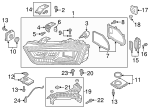 Composite Headlamp - Audi (8U0-941-774-B)