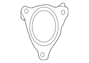 Exhaust Pipe Gasket - Jaguar (J9C1640)