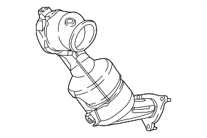 Catalytic Converter - Jaguar (J9C6240)