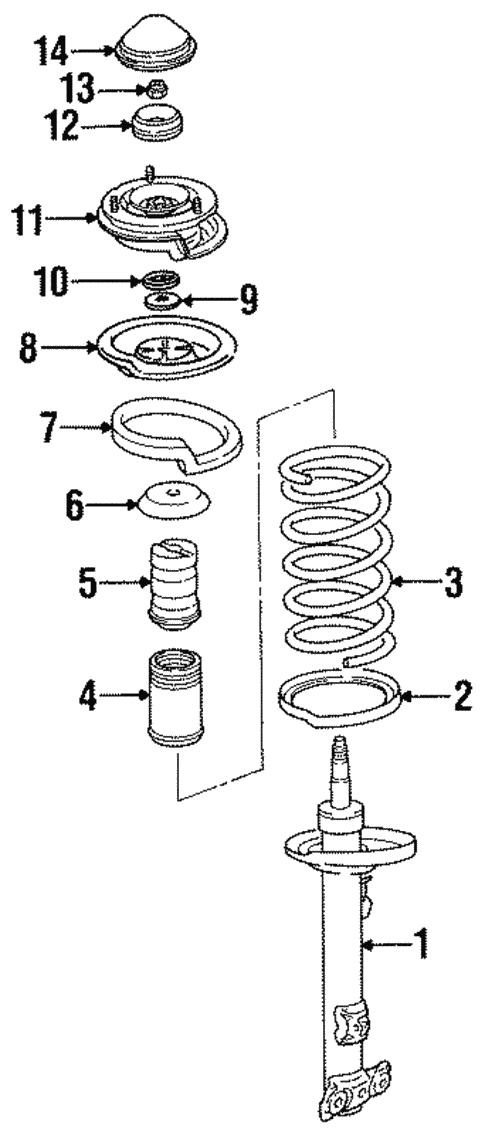 1999 Bmw 323i Parts Diagram