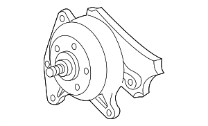 Pulley - GM (12625313)