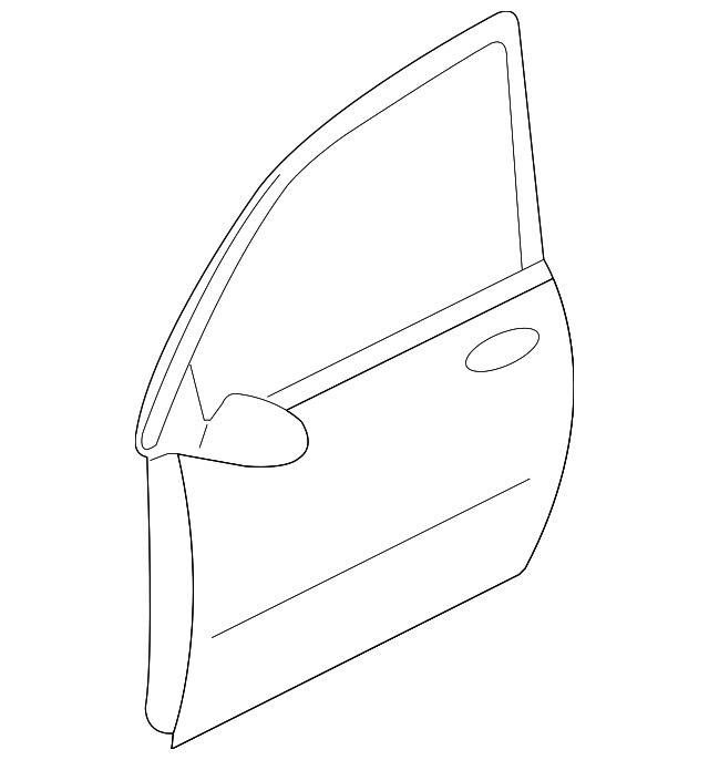 Door Shell - Mitsubishi (5700B392)  sc 1 st  OEM Mitsubishi Parts & Mitsubishi Door Shell 5700B392 | OEMMitsubishiParts