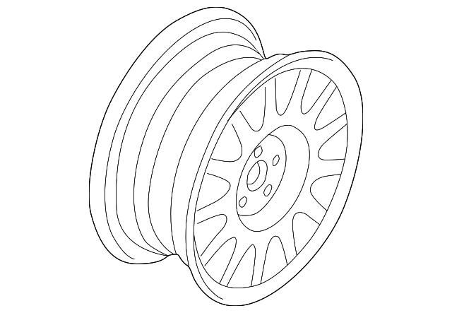 1997 1999 Buick Park Avenue Wheel Alloy 9592337
