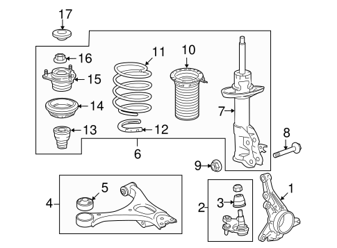 Seat, L Front Spring (Upper)