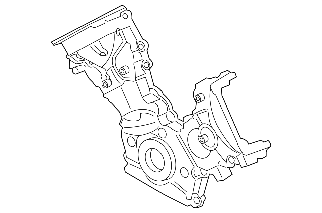 Ford 2L2Z-6019-AA Engine Timing Cover