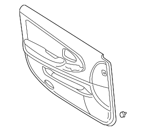 Door Trim Panel - Nissan (80900-3Y405)