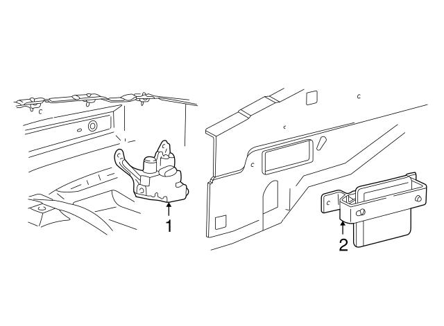 CONTROL Ford F29Z-2C018-A