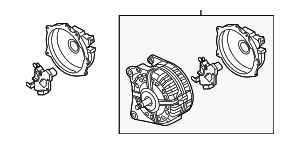 Alternator - Volkswagen (06K-903-015-B)