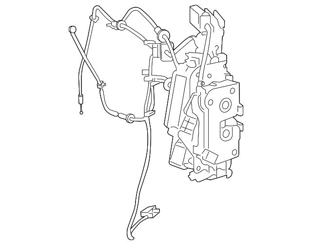 2008 2019 Mopar Lock Actuator 68030380ad