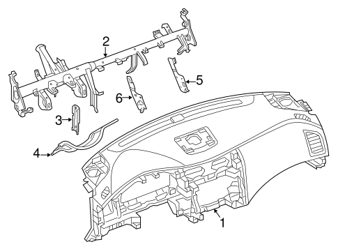 Instrument Panel For 2014 Nissan Altima
