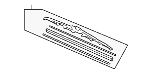 Blade, Windshield Wiper (600MM) - Acura (76620-S3V-A11)