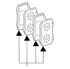 Brake Pads - Mercedes-Benz (007-420-69-20)