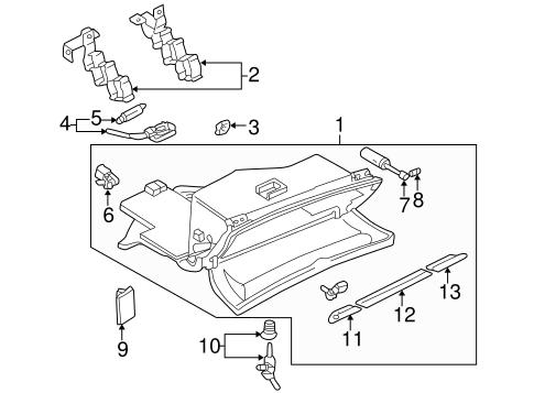 Air Bag Components For 2001 Audi Tt Quattro