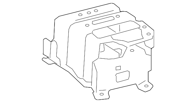 Console Assembly Mount Bracket