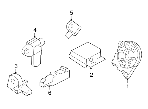 Air Bag Components For 2017 Ford Explorer