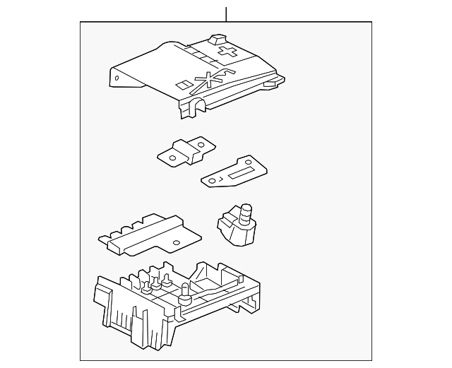 Genuine Gm Block Asm Fuse 13368497