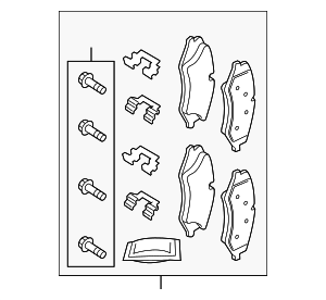 Brake Pads - Land-Rover (LR051626)