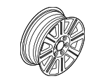 Wheel, Alloy - Ford (7H6Z-1007-A)