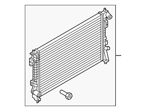 Radiator - Ford (DG1Z-8005-F)