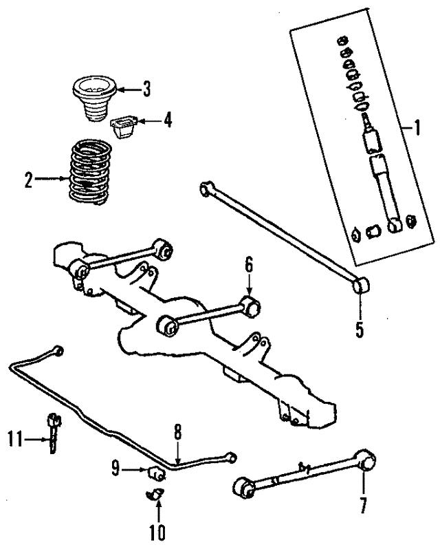 Toyota 48231-AF170 Coil Spring