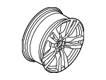 M Double Spoke 300 Wheel, Alloy