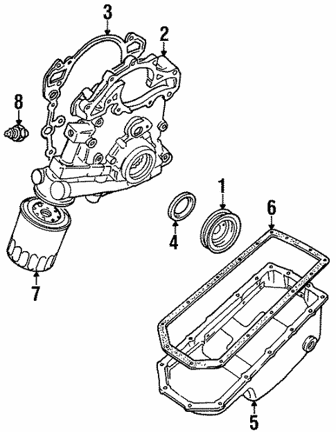 Engine Parts For 1996 Land Rover Discovery