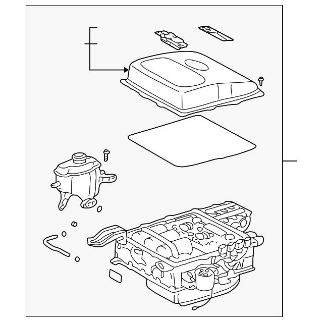 2003 Toyota Prius Transmission: Inverter Assembly - Toyota (G9200-47071)