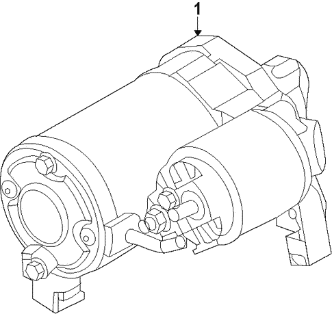 Mitsubishi Mirage Engine Diagram Starter Section