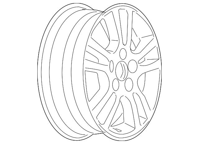 2005 2006 Pontiac G6 Wheel Alloy 9594788