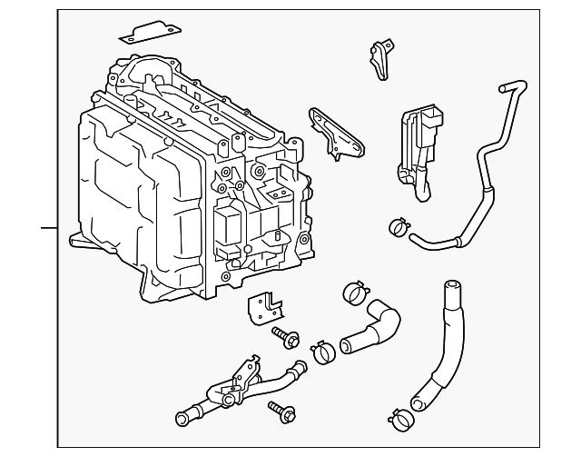 2017 2018 Toyota Highlander Inverter Assembly G92a0 48320