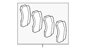 Brake Pads - Mercedes-Benz (007-420-88-20)
