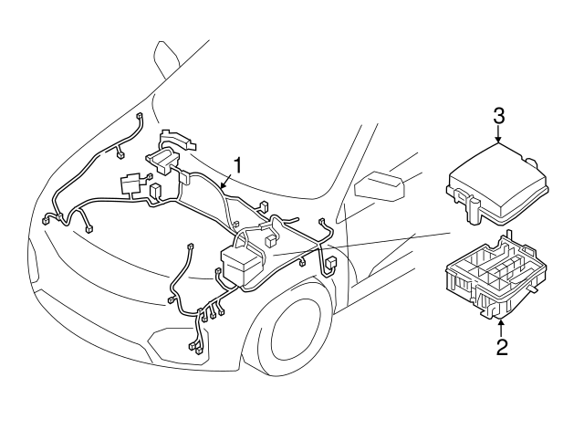 2015 Kia Sorento Wiring Harness