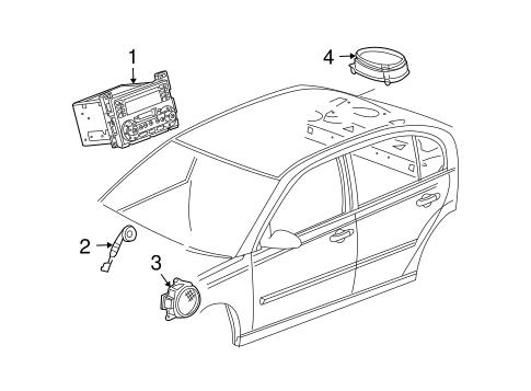 Sound System for 2007 Chevrolet Malibu (Maxx LT) | GMPartsNow