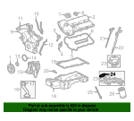 Oil Filter Housing Seal - Jaguar (XR824893)