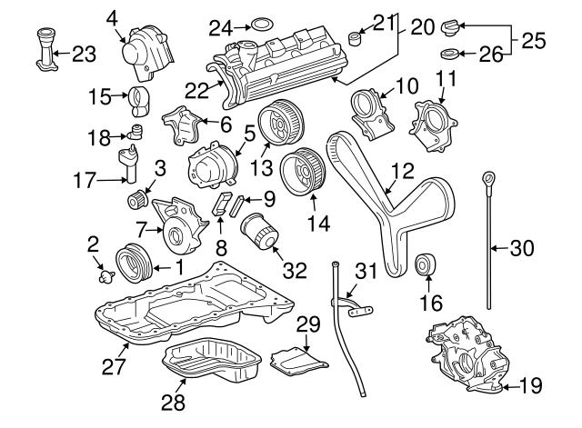 Genuine Toyota 13568-09070 Timing Belt