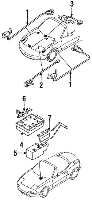 1990 1994 Mazda Miata Diagnostic Unit Na01 67 7f0a