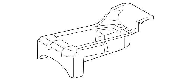 TOYOTA 71753-0C020-C0 Seat Tray