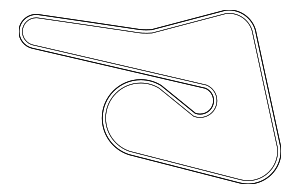 Serpentine Belt - Nissan (11920-3KY0A)
