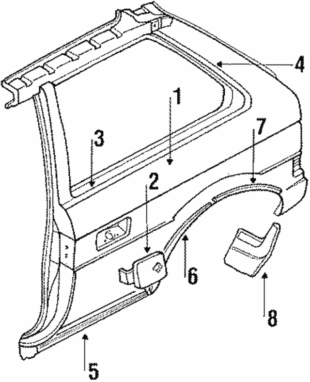 Mud Guard - Subaru (007708073)