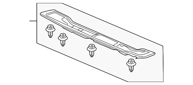 Honda Genuine 83604-S9A-A00ZB Floor Mat