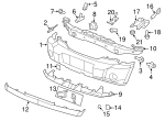 Air Deflector - Mopar (68003841AA)