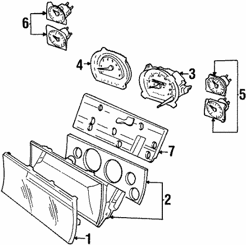 instruments gauges for 1998 jeep grand cherokee ron tonkin dodge 1998 Jeep Cherokee Limited Interior instruments gauges for 1998 jeep grand cherokee