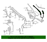 Wiper Arm - Mercedes-Benz (205-820-83-01)