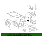 Floor Mat Bracket - Mercedes-Benz (20268401357C45)