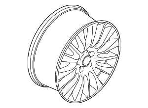 Wheel, Alloy - Ford (KJ7Z-1007-E)