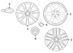 Wheel, Alloy - Nissan (D0C00-89S0A)
