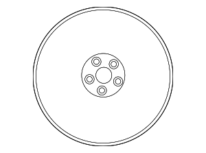 Wheel Nut - Nissan (40224-62B0A)