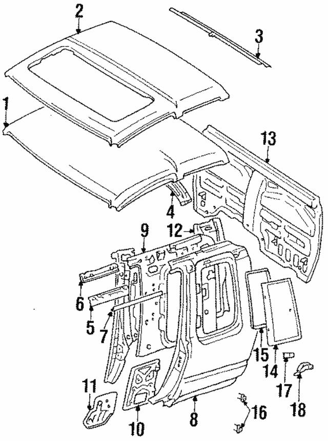 1989 1995 Toyota Pickup Lock Assembly 62910 89102 S4